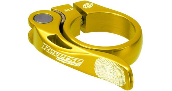 Reverse Long Life Zadelklem 34,9mm goud